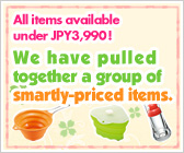 We have pulled together a group of smartly-priced items.