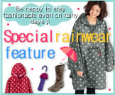 Special rainwear feature